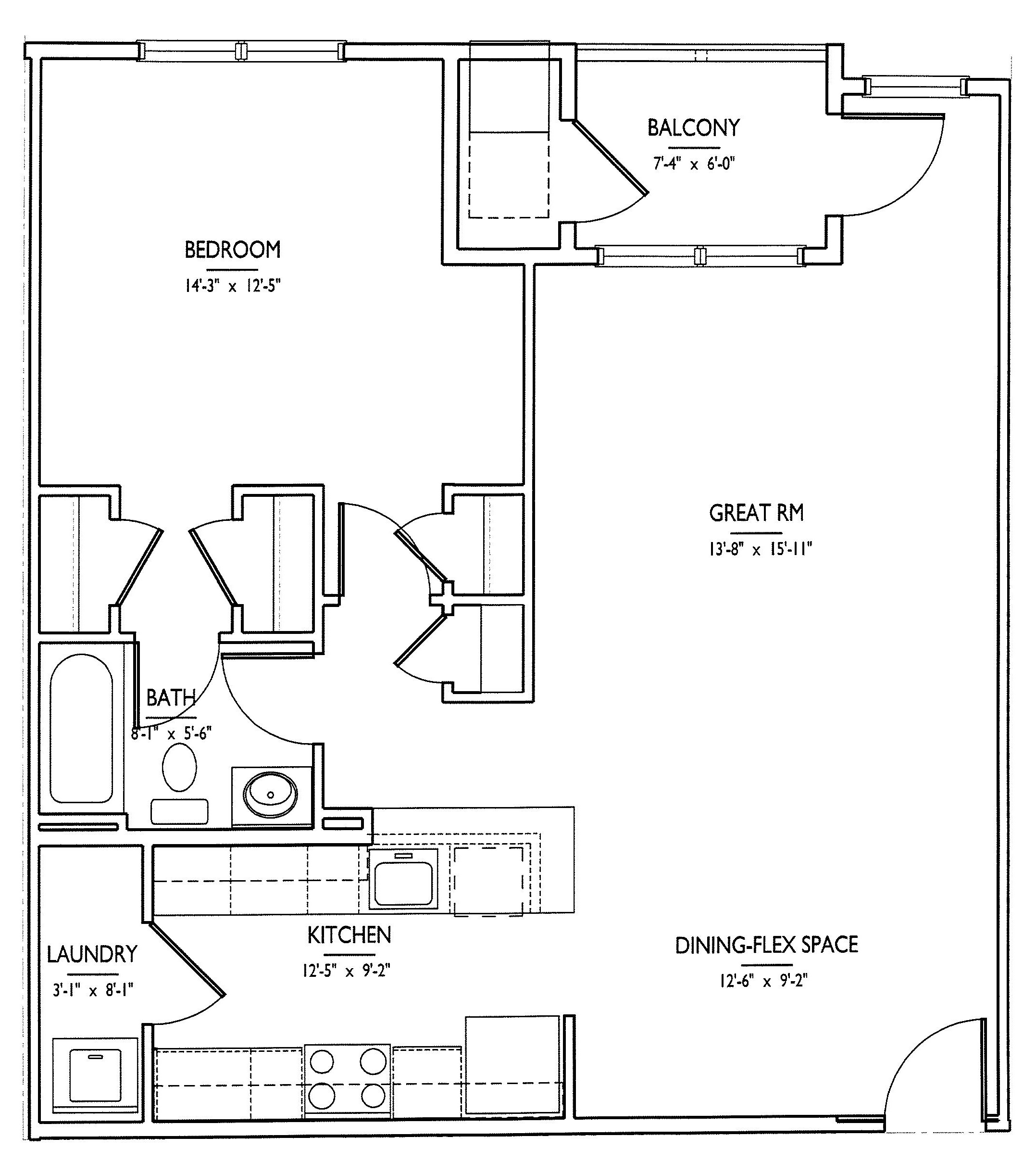Floor plans mi place at west rancocas for 15 dunham place floor plans