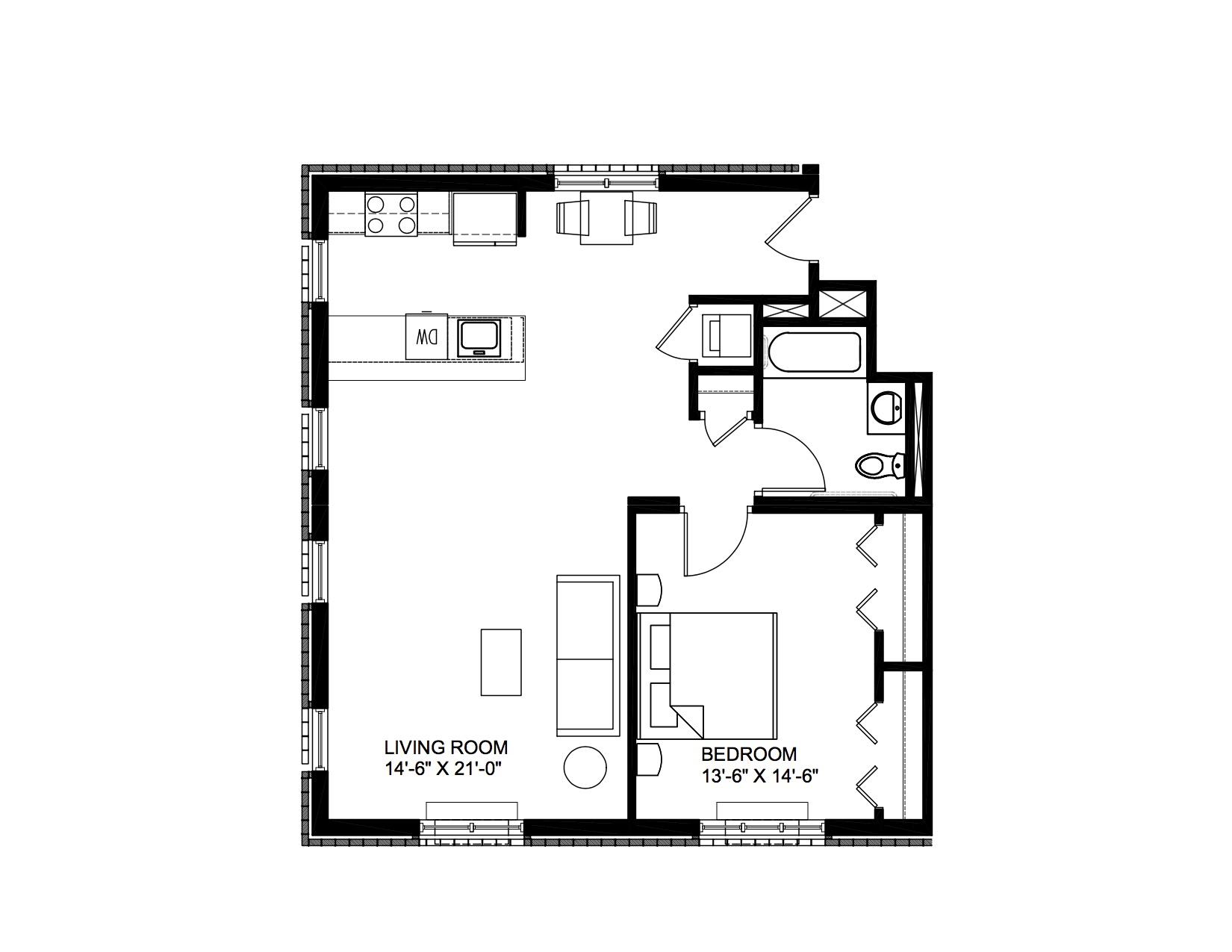 Murano - 1 Bedroom