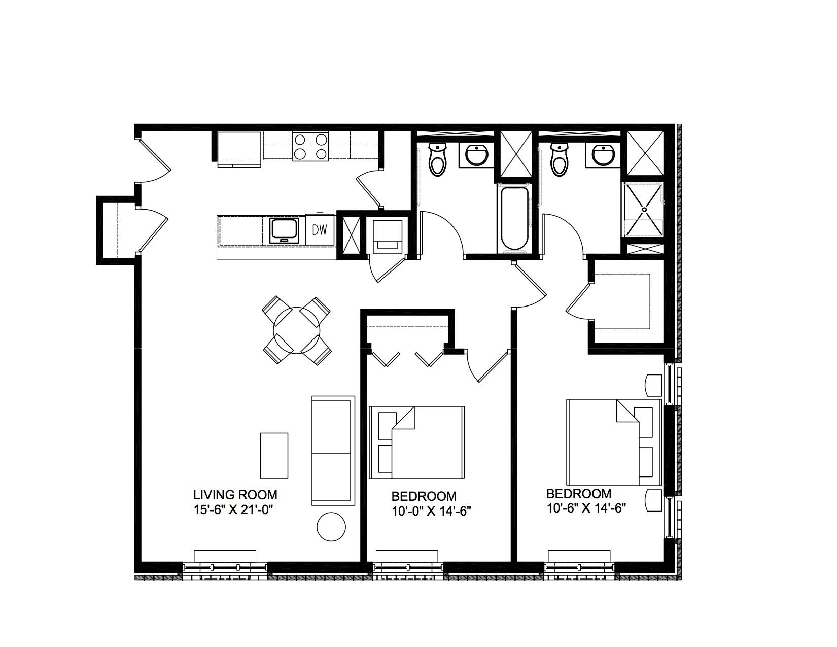 San Rocco - 2 Bedroom