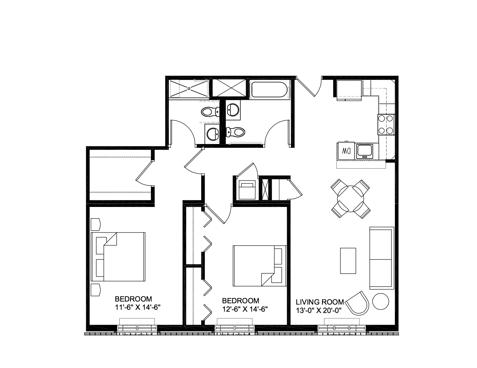 Vittoria - 2 Bedroom