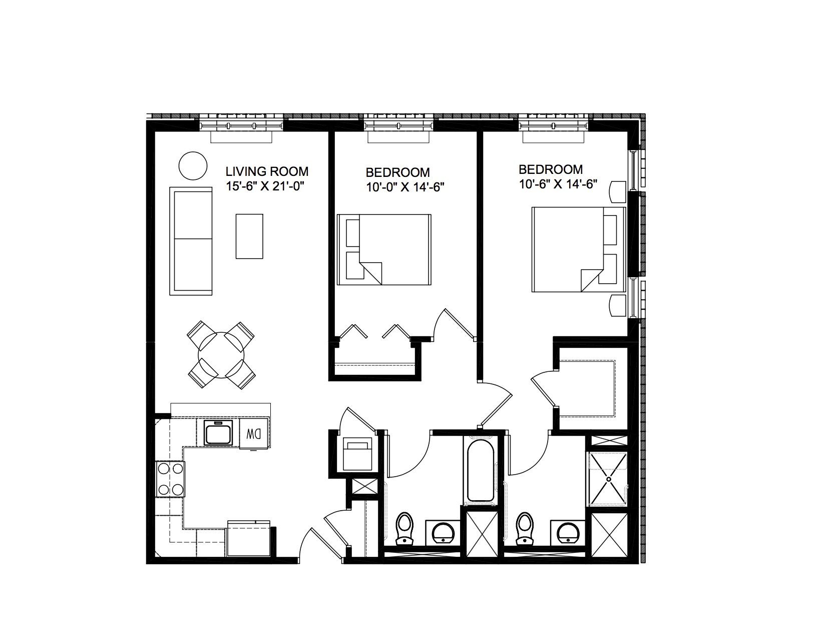 Milan - 2 Bedroom