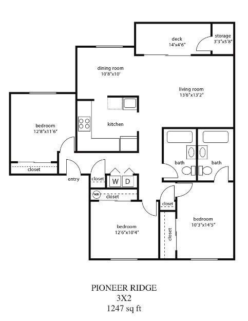 Floor Plans Pioneer Ridge